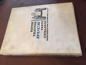 SATOH-S-470-470-TRACTOR-PARTS-MANUAL-BOOK-CATALOG-MITSUBISHI-BEAVER