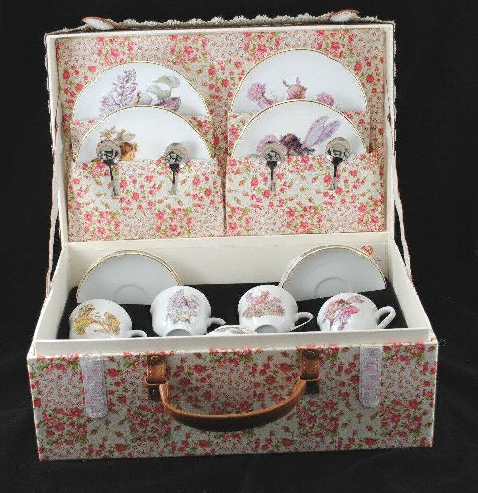 Blumen Feen - Große Tee Set mit / Hülle für Kinder Reutter 75.530/0