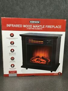 Konwin-Infrared-Wood-Mantle-Fireplace-3-Heating-Elements-M20E