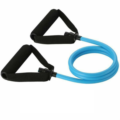 Home Gym Tube Fitness Yoga Pull Rope Elastic Resistance Bands Strength Training