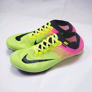 b6fabf022d93 Nike Zoom Mamba 3 OC Spikes Track Shoes 882015 999 Volt Men s Size ...