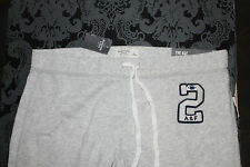 Abercrombie & Fitch Damen Sweatpants Jogginghose Größe L Grau Neu mit Etikett