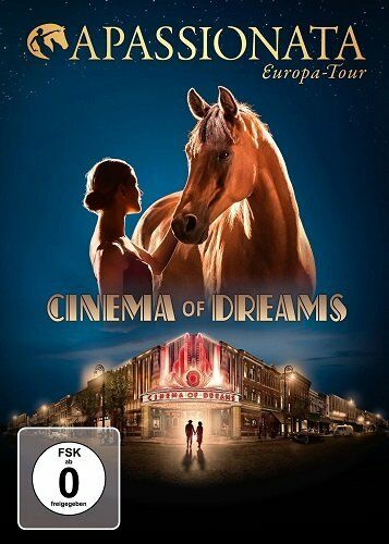 Artistes Divers Apassionata Europe Tour Cinema Of Dreams Boîte DVD Set Édition N