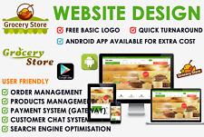 Online Grocery Store Website For Supermarket Off License Or For Any Online Shop