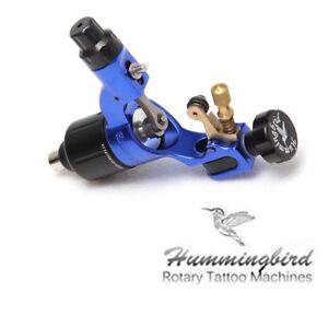 Blue Hummingbird Rotary Tattoo Machine Gun Swiss Motor SR2 Liner ...