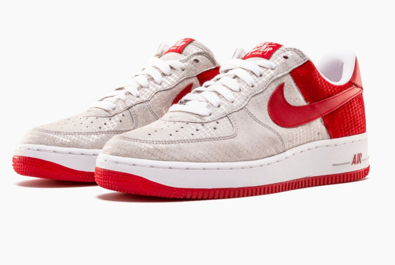e1fd9d78a3 DS MEN NIKE AIR FORCE 1 PREMIUM VINTAGE CHRISTMAS 312945 061 SZ 9.5 FREE  SHIP