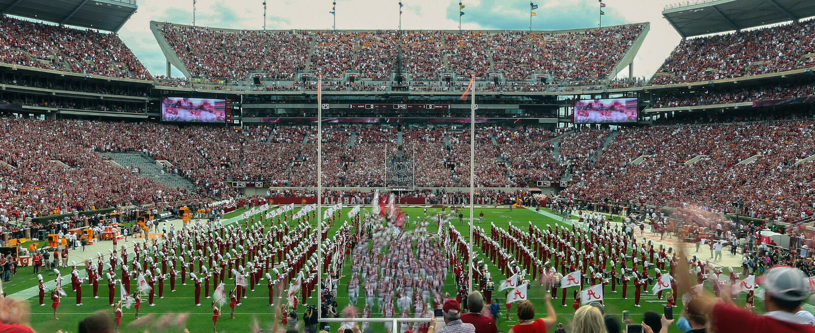 Mississippi State Bulldogs at Alabama Crimson Tide Football