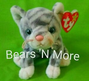 d9bac86525c Image is loading TY-BEANIE-BABY-034-SILVER-034-CAT-RETIRED-