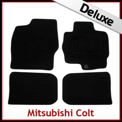 2012 a medida Alfombrillas De Coche De Lujo 1300g Mitsubishi Colt 2004 2005 2006 2007 2008..