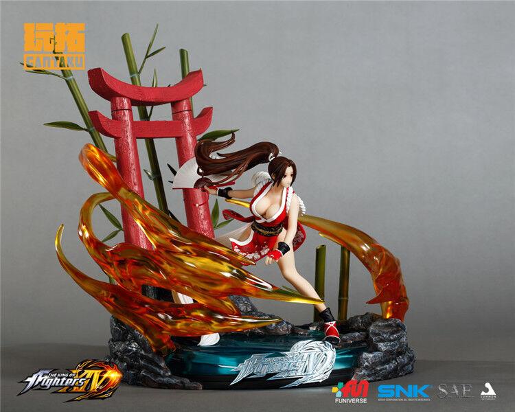 THE KING OF FIGHTERS figure-GANTAKU  KOF Studio Mai Shiranui 1 6 figure Statue