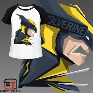 bf29def38 Marvel X Men Wolverine T-Shirt / Mens / Women's / Kids / Comic Book ...