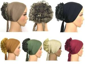 Tie back Volumizer underscarf cap inner hijab lovely stretchy jersey material