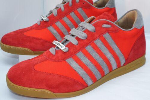 Maat Fashion herentennisschoenen Gift Tessuto Red Dsquared2 Nieuwe Sneakers Sale 44 XOkPZui