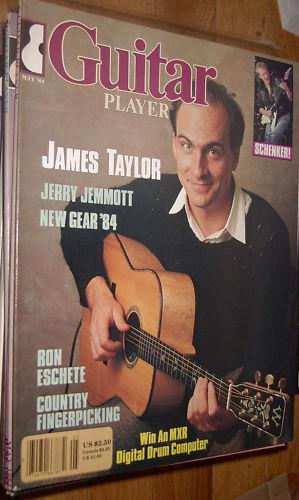Guitar Player May 1984 James Taylor