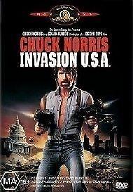 Invasion U.S.A. (DVD, 2005) REGION 1, Chuck Norris