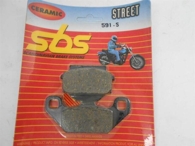 SBS 591HF Frente Pastilla de Freno Kit para : Kawasaki KLR250 KL250 Kl KLR 250