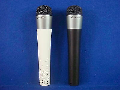 Xbox 360 x2 Wireless Microphones Mic Rock Band 3 Lips Guitar Hero Genuine