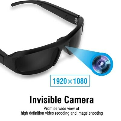 Mini HD Spy Camera Glasses 1080P Hidden Spy Eyewear Sunglasses Cam DV DVR lot an