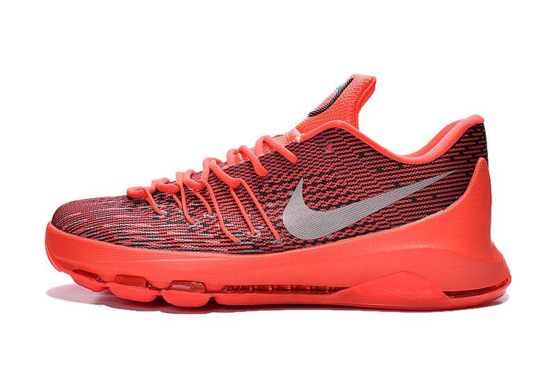 Nike KD 8 Men's shoes Bright Crimson   White   Black Size 10 NIB 749375-610