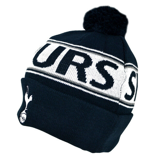 9f6cb481a83 Tottenham Hotspur Knitted Hat Warm Cuff Spurs Gift Official Licensed  Product