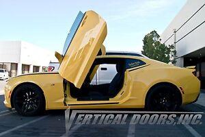 Image is loading Chevrolet-Camaro-2016-2018-Vertical-Doors-INC-Bolt- & Chevrolet Camaro 2016-2018 Vertical Doors INC. Bolt on Lambo door ...