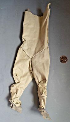 Amichevole Ivntage Pantaloni In Vera Pelle Vestito Copre Per Bambola-mostra Il Titolo Originale