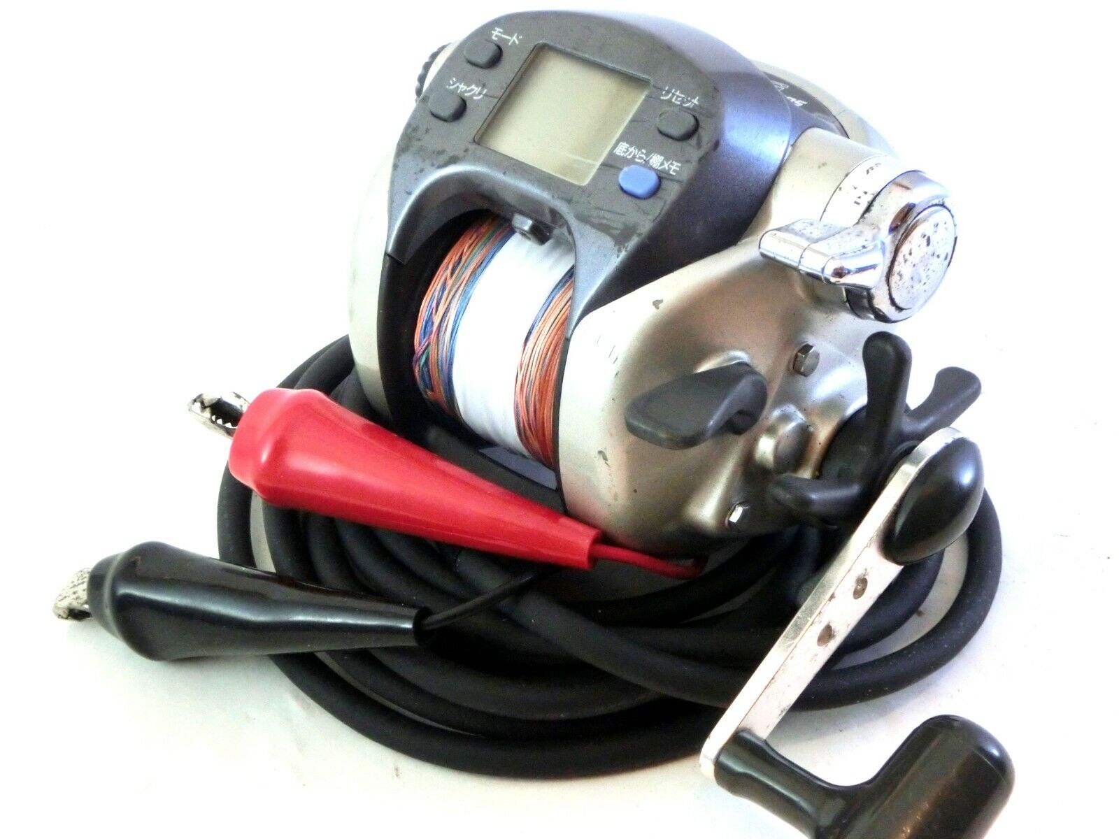 Daiwa Super Tanacom S500W Electric reel   inglese uomoual & Used PE line Good