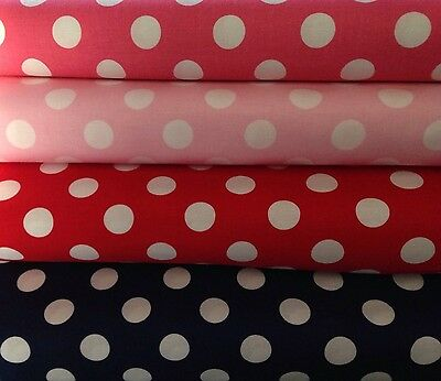 Pin Dot spotty polka dot fabric material Michael Miller CR6037 fat quarters