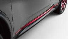 Nissan Juke Color Studio Red Side Door Sills Moldings OEM 2011-2017
