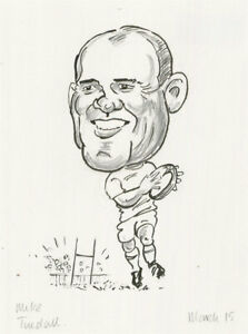 Terry Shelbourne (1930-2020) - Contemporary Pen and Ink Drawing, Mike Tindall