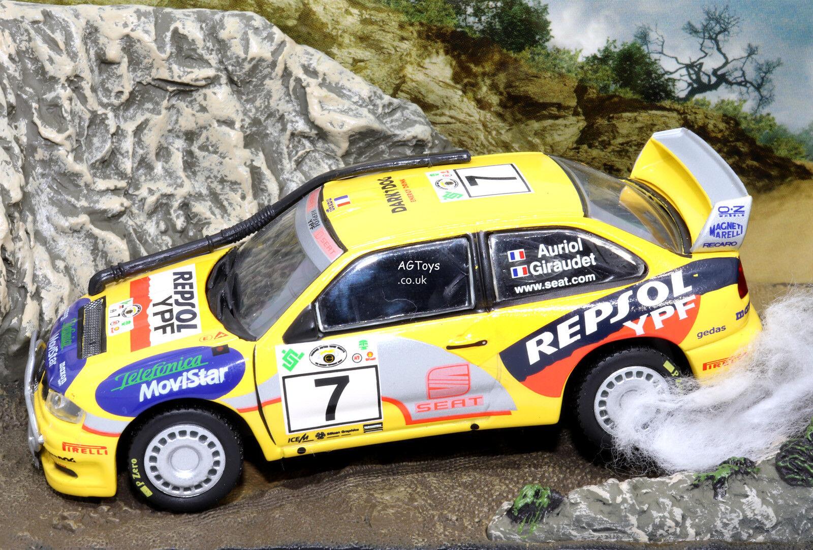 Rally Car Collection Seat Cordoba WRC Safari Rally 2000 D.Auriol 1 43 Model