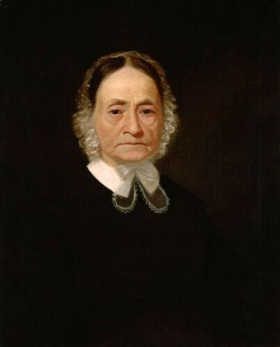 William Miles canvas old woman figure Mrs Oil painting george caleb bingham