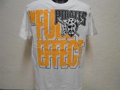 Original Handelsware Weißes Shirt 48mw Taille Und Sehnen StäRken Zuversichtlich Neu Pittsburgh Pirates Herren Medium m