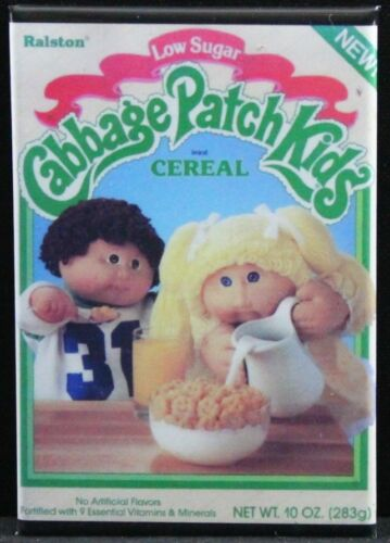 "Locker Magnet. Cabbage Patch Kids Cereal 2/"" X 3/"" Fridge"