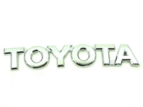 Genuina Nueva Insignia De Arranque De Toyota Trasero Placa logotipo para todos los modelos de 2005-2011 AYGO