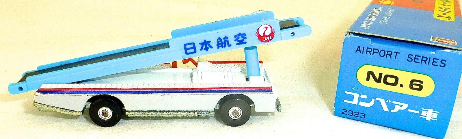 JAL Conveyor Car 1 120 BANDAI 2323 Airport Series No 6 OVP HB3 å
