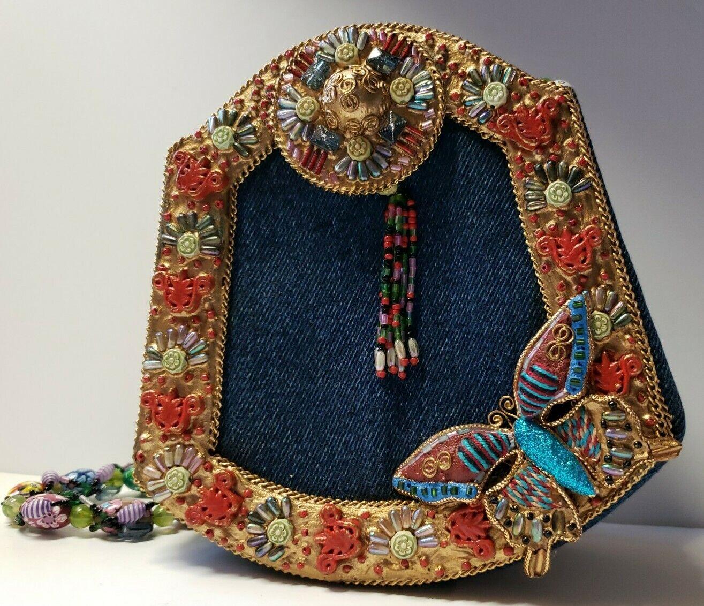 Mary Frances Butterfly Purse Handbag - image 6