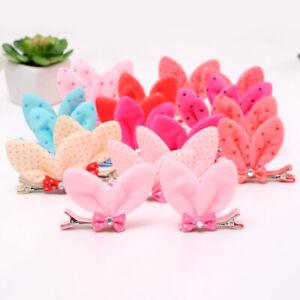 2pcs-Girl-Baby-Bow-Hair-Clip-Barrette-Ribbon-Bowknot-Hairpin-Hair-Accessories