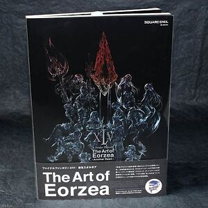 Details About Final Fantasy Xiv A Realm Reborn The Art Of Eorzea Game Art Book New