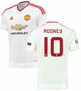 922443aae92 Image is loading ADIDAS-WAYNE-ROONEY-MANCHESTER-UNITED-UEFA-CHAMPIONS-LEAGUE -