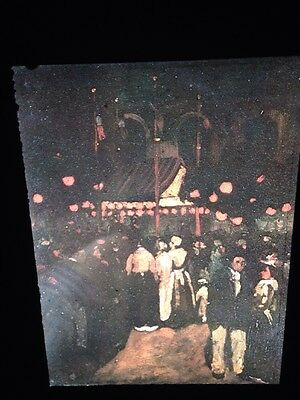 "14th Of July 1897"" Ashcan School 35mm Art Slide The Best Robert Henri ""night Art"