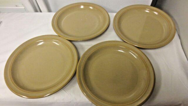 """Lot 4 Dansk Sirocco 9"""" Dinner Plates -Earthtones"""