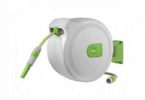 schlauchtrommel automatik 20m 2m gartenschlauch aufroller wasserschlauch neu ovp ebay. Black Bedroom Furniture Sets. Home Design Ideas