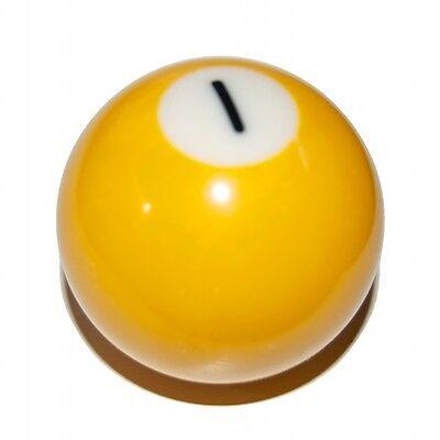 Yellow Spot 1 Pool Ball Pool Gear Knob VW T4 90-03 T25 85-92 Transporter Van