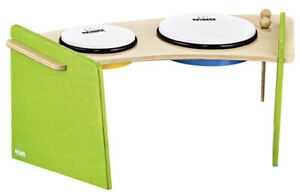 Meinl Nino 965 Percussion Hand Drum Set 2 pieces