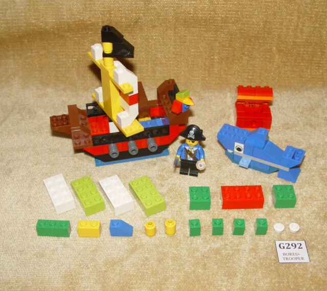 LEGO Sets: Creator: Basic Set: 6192-1 Pirates Building Set (2009) 100% CREATE