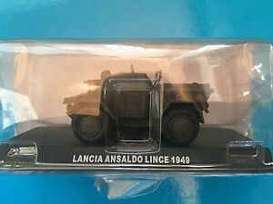 DIE-CAST-034-LANCIA-ANSALDO-LINCE-1949-034-SCALA-1-43-CARABINIERI