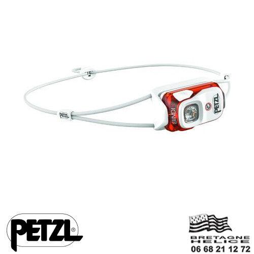LAMPE FRONTALE PETZL BINDI RECHARGEABLE USB 200 LUMENS