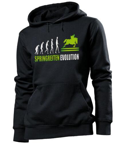 Spring équitation Evolution-Femmes Capuche S-XL