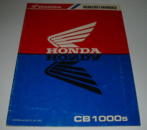 Werkstatthandbuch-Honda-CB-1000-CB-1000-S-Schaltplan-Drehmomente-Kuehler-1995
